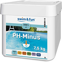 pH-säätöaine Swim & Fun pH Minus 7,5 kg