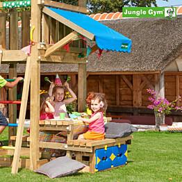 Picnic-pöytäsetti leikkitorniin Jungle Gym Mini Picnic 120 cm sis. puutavaran