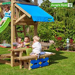 Picnic-pöytäsetti leikkitorniin Jungle Gym Mini Picnic 160 cm sis. puutavaran