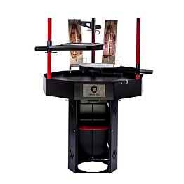 Pihagrilli Carelia Grill® 9K-100 korkea ilman huuvaa musta