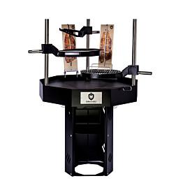 Pihagrilli Carelia Grill® 9K-100 Premium korkea ilman huuvaa musta