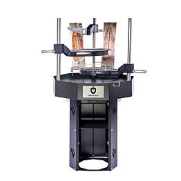 Pihagrilli Carelia Grill® 9K-80 Premium korkea ilman huuvaa musta
