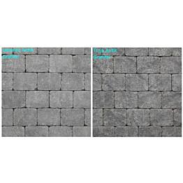 Pihakivi Benders Labyrint/Troja Antik Makro 210x210x50 mm grafiitti