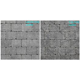 Pihakivi Benders Labyrint/Troja Antik Mikro 140x140x50 mm grafiitti