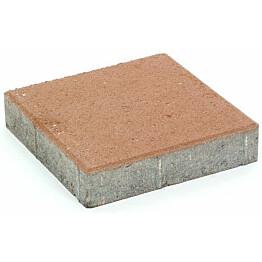 Pihakivi Rudus Kartanolaatta 80 278x278x80 mm sileä hiekanruskea