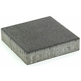 Pihakivi Rudus Kartanolaatta 80 278x278x80 mm sileä musta