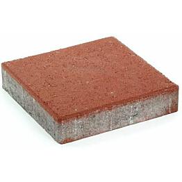 Pihakivi Rudus Kartanolaatta 80 278x278x80 mm sileä punainen