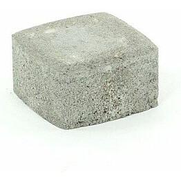 Pihakivi Rudus Klassikko neliö 60 115x115x60 mm sileä harmaa