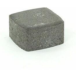 Pihakivi Rudus Klassikko neliö 60 115x115x60 mm sileä musta