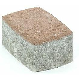 Pihakivi Rudus Klassikko suorakaide 80 172x115x80 mm sileä hiekanruskea