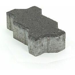 Pihakivi Rudus Unikivi 60 225x112,5x60 mm sileä musta