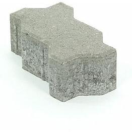 Pihakivi Rudus Unikivi 80 225x112,5x80 mm sileä harmaa