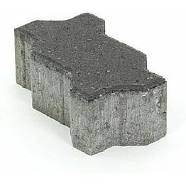 Pihakivi Rudus Unikivi 80 225x112,5x80 mm sileä musta