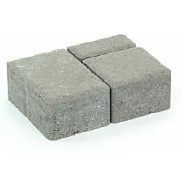 Pihakivisarja Rudus Milano-kivet 80 mm sileä harmaa