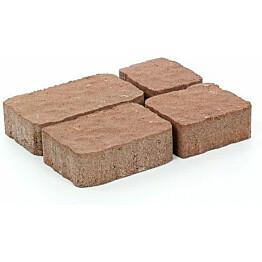 Pihakivisarja Rudus Verona-kivet 60 mm profiloitu hiekanruskea