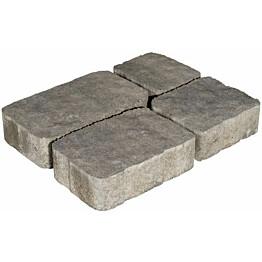 Pihakivisarja Rudus Verona-kivet 60 mm profiloitu savu