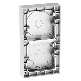 Pinta-asennuskehys ELKO Plus 2-os 20mm alumiini