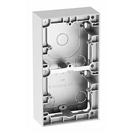 Pinta-asennuskehys ELKO Plus 2-os 35mm alumiini