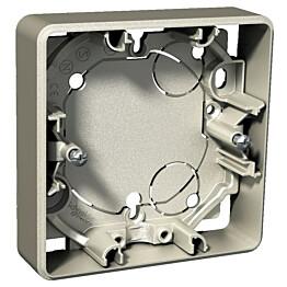 Pinta-asennusrasia 1-os. h=21 mm metalli Exxact 2418121