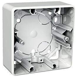 Pinta-asennusrasia 1-os. h=35 mm valkoinen Exxact 2418131