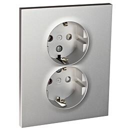 Pistorasia ELKO Plus 2-osainen 2-vaiheinen/16A/440V/IP20 UPR alumiini