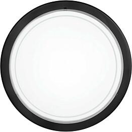 Plafondi Planet 1 Ø 290 mm valkoinen/musta