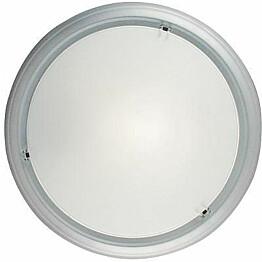 Plafondi Nordlux Frisbee ø 28,5 cm alumiini