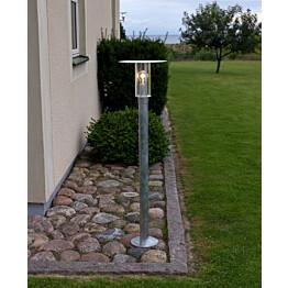 Pollarivalaisin Mode 662-320 E27 Ø 280x1110 mm sinkitty teräs