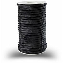 Polyesterinyöri Piippo 5mm musta 17m
