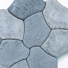 Pihakivi Benders Pompeji 60 mm harmaa sekoitus