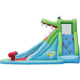 Pomppulinna Happy Hop Crocodile Pool