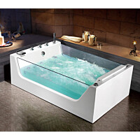 Poreamme Bathlife Flit kahdelle 480L 1700x1200 mm