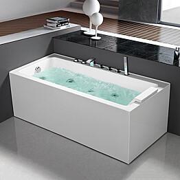 Poreamme Bathlife Pusta 1500 oikea 1500x750mm 290l veden ylläpitolämmittimellä