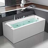 Poreamme Bathlife Pusta 1500 vasen 1500x750mm 290l