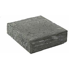 Porraskivi Rudus Lohkoaskel l=450 450x400x130 mm sileä musta