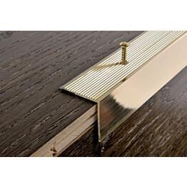 Porraskulmalista Progress Profiles Prowalk, 2,7m, 30mm, ruuvikiinnitettävä, pronssi