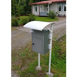 Postilaatikon katos Kikka, yhdelle laatikolle
