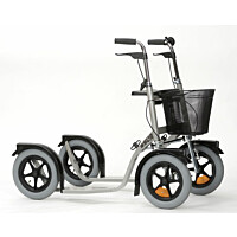 Potkupyörä Esla CityMax 3800 hopea