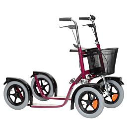 Potkupyörä Esla CityMax 3800 punainen
