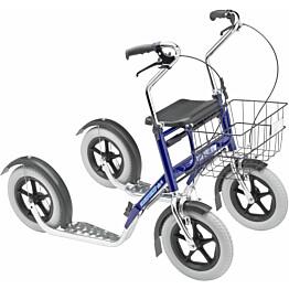 Potkupyörä Tuplapotku Nix, lyhyt, sininen