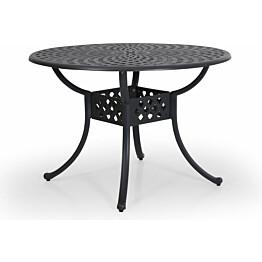 Pöytä Arras Ø105cm antrasiitti