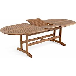 Pöytä Everton jatkettava 100x200/250cm ruskea