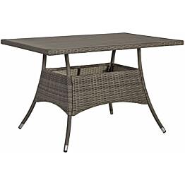 Pöytä Home4you Paloma 120x74 cm harmaa