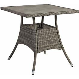 Pöytä Home4you Paloma 74x74 cm harmaa