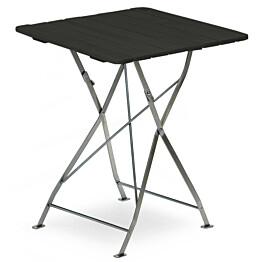 Pöytä Krögaden taitettava 70x70cm musta