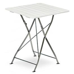 Pöytä Krögaden taitettava 70x70cm valkoinen