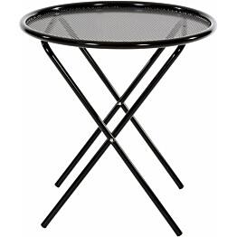 Pöytä Varax Tuuli pyöreä musta