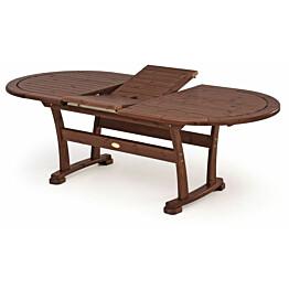 Pöytä Hillerstorp Cecilia 110x180/240cm, ruskea 12406