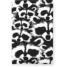 Pöytäliina Finlayson Pesue 145x250 cm mustavalkoinen