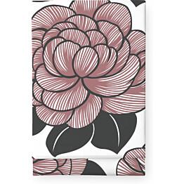 Pöytäliina Finlayson Sylvi 145x250 cm valkoinen/roosa